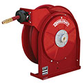 "Reelcraft 5650 OLP 3/8"" x 50' 300PSI All Steel Compact Retractable Hose Reel For Air/Water"