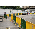 MOVIT® Interlocking Plastic Barricade, Yellow