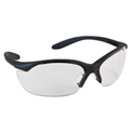 Vapor II® Safety Eyewear - Clear Lens, Black Frame - Pkg Qty 10