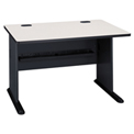 "Bush Furniture 48"" Desk - Gray - Series A"