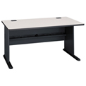 "Bush Furniture 60"" Desk - Gray - Series A"