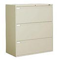 "Global™ 9300 Series 36""W 3 Drawer Binder Lateral File - Putty"
