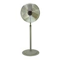 TPI CACU30P,30 Inch Pedestal Fan Non Oscillating 1/4 HP 4,200 CFM 1 PH Enclosed Motor