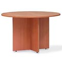 48 Inch Round Conference Table in Medium Cherry - Executive Modular Furniture