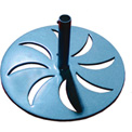 Leisure Craft Outdoor Umbrella Base - Blue