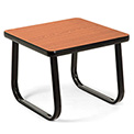 "OFM Reception Side Table - 20"" - Cherry"