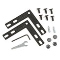 "Interion™ 90 Degree Corner Connector Kit For 60""H Panel"