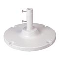 Grosfillex® 35 Lb. Table Umbrella Base, White