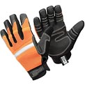 Ergodyne® ProFlex® 872 Hi-Vis General Purpose Work Gloves, Orange, Large