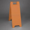 "Minicade Barricade Sign Stand 36"" H With 2 Panels No Sheeting - Pkg Qty 2"