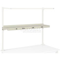 "48""W Shelf with Electrical - Tan"