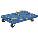 "Plastic Office Dolly 24""L x 16""W 220 Lb. Capacity"