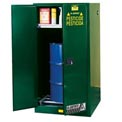 Justrite® Pesticide Drum Storage Cabinet - Self Close