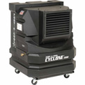 PortACool Cyclone® 3000 Centrifugal Air Evaporative Cooler PAC2-KCYC01 Black Two Speed