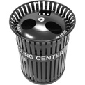 3-in-1 Steel Recycling Center - Black