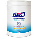 Purell Sanitizer Wipes Canister - 6 Canisters/Case 9113-06
