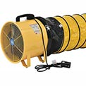 Global Portable Ventilation Fan 8 Inch With 16 Feet Flexible Ducting