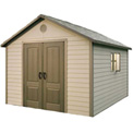 "Lifetime® Storage Building 11 x 13'6"" with Windows"