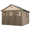 "Lifetime® Storage Building 11 with 18' 6"" Tri-Folding Doors"