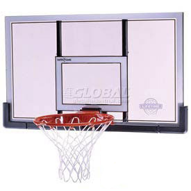 "Lifetime® 48"" Shatter Proof Basketball Backboard with Slam-It Pro Rim"