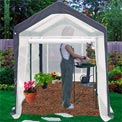 Spring Gardener Greenhouse Gable 6' x 8' x 7'