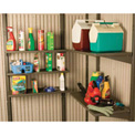 "14"" x 30"" 5 Pack Shelf Accessory Kit For Lifetime Sheds"