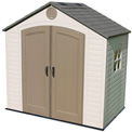 Lifetime 8' x 5' Storage Building With Windows