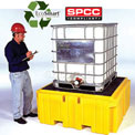 UltraTech Ultra-IBC Spill Pallet® Plus with Drain 1158