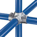 "Kee Safety - 40 6 - Four Socket Cross, 1"" Dia."