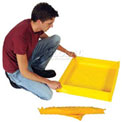 UltraTech Ultra-Utility Tray® 1335 - Flexible Model - 12 x 12 - 1.5 Gallon Capacity