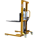"Big Joe® MSA22-63 Hand & Foot Pump Operated Lift Truck 2200 Lb. 63"" Lift"