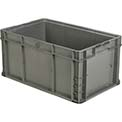 "ORBIS Stakpak NSO2415-11.5 Modular Straight Wall Container, 24""L x 15""W x 11-1/2""H, Gray"