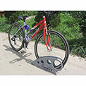 "RackiT™ Boot Bike Rack, Galvanized Steel, 25-5/8""L x 2-5/8""W x 11-1/16""H"
