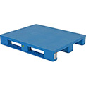 Rackable Smooth Pallet 47-1/8x39-1/4,8000 Lb Floor&3300 Lb Fork&3300 Lb Rack Cap
