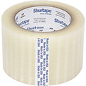 "Shurtape® HP 200 Carton Sealing Tape 3"" x 110 Yds. 1.9 Mil Clear - Pkg Qty 24"