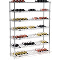 "Wine Bottle Rack - 91 Bottle 48"" x 14"" x 63"""