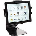 Peerless® Universal Desktop Tablet Mount With Standard Hardware, Black