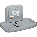 Koala Kare® Horizontal Baby Changing Table W/ Stainless Steel - Gray KB200-01SS