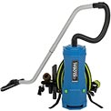Global™ 6 Quart HEPA Backpack Vacuum w/8-Piece Tool Kit