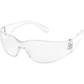 Global Industrial Safety Glasses, Scratch-Resistant, Clear Lens Color, 1 Each