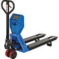 Low Profile Pallet Jack Scale Truck 5000 Lb. Capacity 22 x 48 Forks