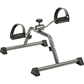 Global™ Portable Arm and Leg Exercise Pedal Exerciser, Silver Vein, Ships Knocked-Down