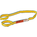 Global Industrial™Poly Web Sling, HD, Eye&Eye w/ Durable Edge, 6Ft L-3200/2500/6400 Lbs Cap