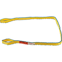 Global Industrial™Poly Web Sling, HD, Eye&Eye w/Durable Edge, 10Ft L-6400/5000/12800 Lbs Cap