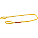 Global Industrial™Poly Web Sling, Light Duty, Eye&Eye 8Ft L x 1In W, 1200/950/2400 Lbs Cap