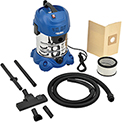 Global™ 6.6 Gallon Stainless Steel Wet Dry Vacuum