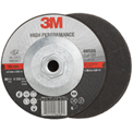 "3M™ High Performance Cut-Off Wheel T27 Quick Change 66585 7"" x .09"" X 5/8-11"" Ceramic 36 Grit - Pkg Qty 50"