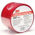 "3M™ Construction Seaming Tape 8087 Red, 1-7/8"" x 216', 3 Mil - Pkg Qty 16"