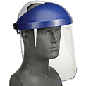 3M™ Ratchet Headgear W/ Faceshield, H8A, Clear, Polycarbonate, 1 Each