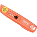 Self-Retracting Plastic Safety Box Cutter With 6 Blades - Pkg Qty 12